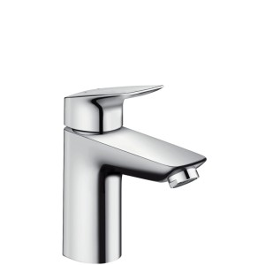Logis Hansgrohe bateria umywalkowa 100 z push-open chrom - 71107000
