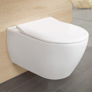 Architectura V&B deska sedesowa SlimSeat white alpin - 9M70 61 01