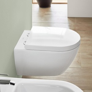 Subway 2.0 V&B miska WC wisząca DirectFlush white alpin Ceramicplus - 5614 R0 R1