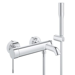 Essence New Grohe bateria wannowa chrom - 33628 001