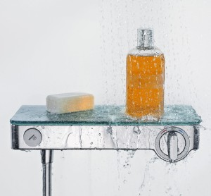 ShowerTablet Select Hansgrohe bateria termostat 300 biały/chrom - 13171400