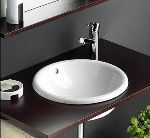 Umywalki Wpuszczane W Blat Ceramika Sanitarna łazienka